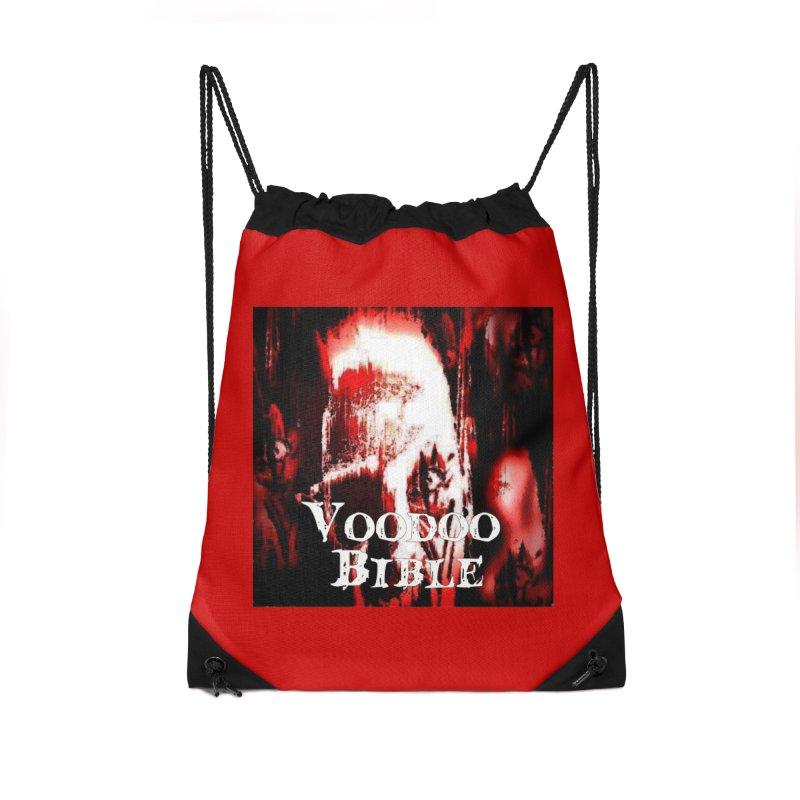 "Voodoo Bible - ""Black Tarot"" Accessories Drawstring Bag Bag by Venus Aeon (clothing)"