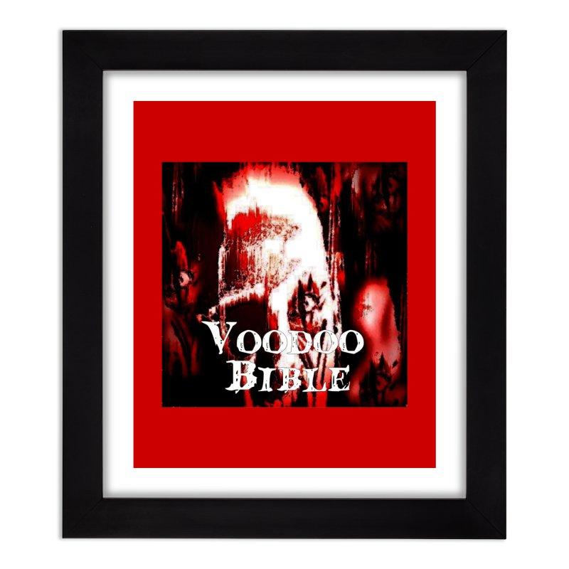 "Voodoo Bible - ""Black Tarot"" Home Framed Fine Art Print by Venus Aeon (clothing)"