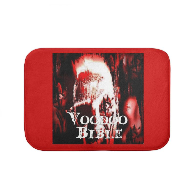 "Voodoo Bible - ""Black Tarot"" Home Bath Mat by Venus Aeon (clothing)"
