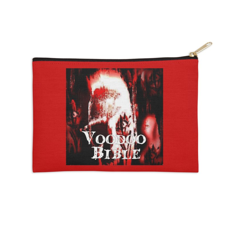 "Voodoo Bible - ""Black Tarot"" Accessories Zip Pouch by Venus Aeon (clothing)"