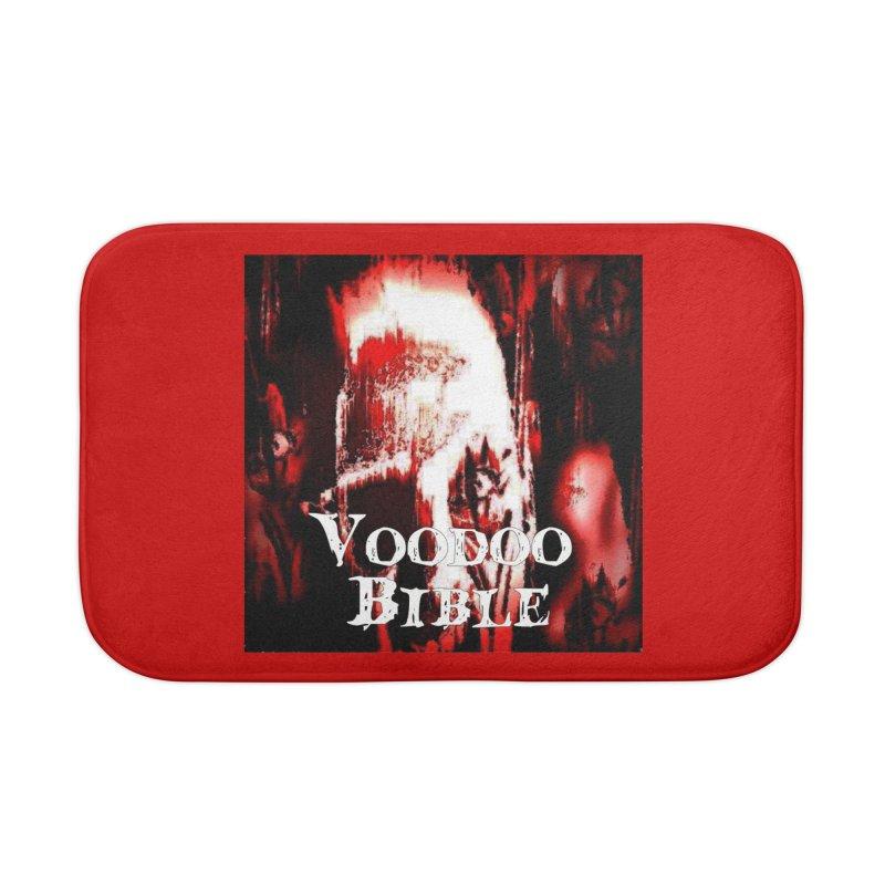 "Voodoo Bible - ""Black Tarot"" Home Bath Mat by Venus Aeon (clothing)"