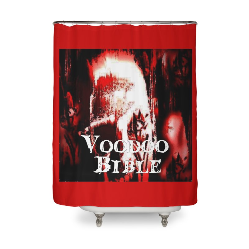 "Voodoo Bible - ""Black Tarot"" Home Shower Curtain by Venus Aeon (clothing)"