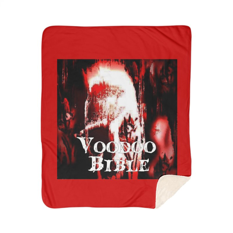 "Voodoo Bible - ""Black Tarot"" Home Sherpa Blanket Blanket by Venus Aeon (clothing)"