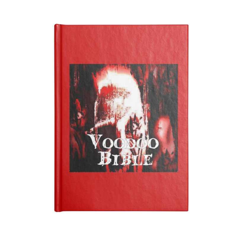 "Voodoo Bible - ""Black Tarot"" Accessories Lined Journal Notebook by Venus Aeon (clothing)"
