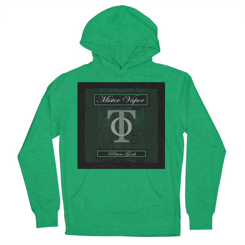 """Mister Vapor - """"Risen Gods"""" Men's French Terry Pullover Hoody by Venus Aeon (clothing)"""