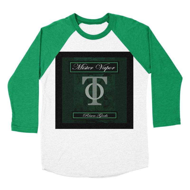 "Mister Vapor - ""Risen Gods"" Women's Baseball Triblend T-Shirt by Venus Aeon (clothing)"