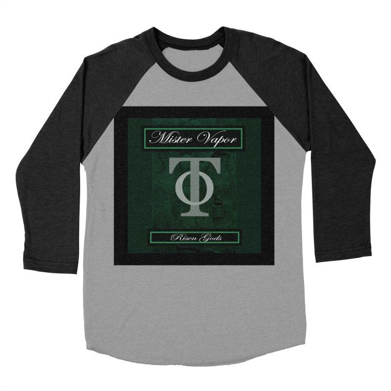 "Mister Vapor - ""Risen Gods"" Men's Baseball Triblend T-Shirt by Venus Aeon (clothing)"