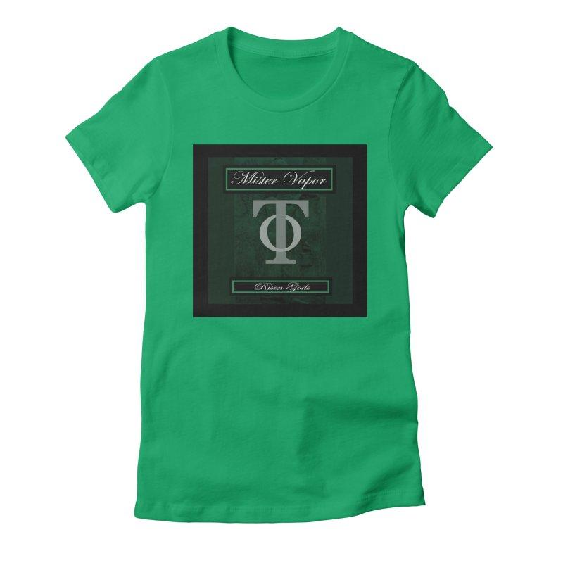 "Mister Vapor - ""Risen Gods"" Women's T-Shirt by Venus Aeon (clothing)"