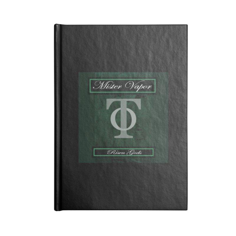 "Mister Vapor - ""Risen Gods"" Accessories Notebook by Venus Aeon (clothing)"