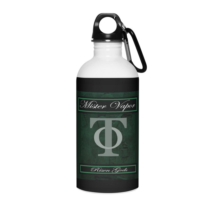 "Mister Vapor - ""Risen Gods"" Accessories Water Bottle by Venus Aeon (clothing)"