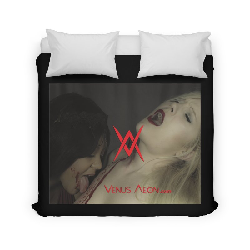 Venus Aeon - Vampyre Home Duvet by Venus Aeon (clothing)