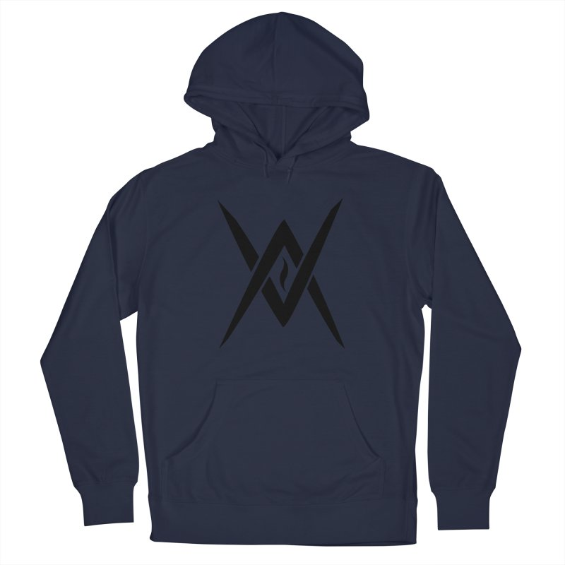 "Venus Aeon ""Tantric Black Flame"" (Black) Men's Pullover Hoody by Venus Aeon (clothing)"