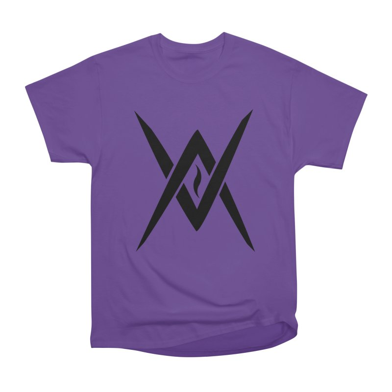 "Venus Aeon ""Tantric Black Flame"" (Black) Women's Heavyweight Unisex T-Shirt by Venus Aeon (clothing)"