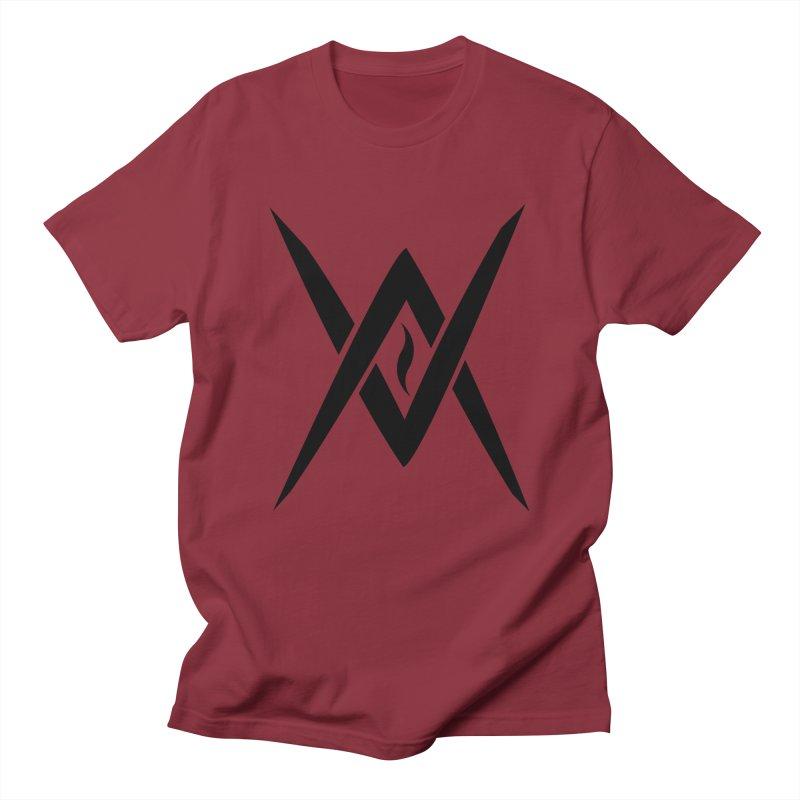 "Venus Aeon ""Tantric Black Flame"" (Black) Women's Regular Unisex T-Shirt by Venus Aeon (clothing)"