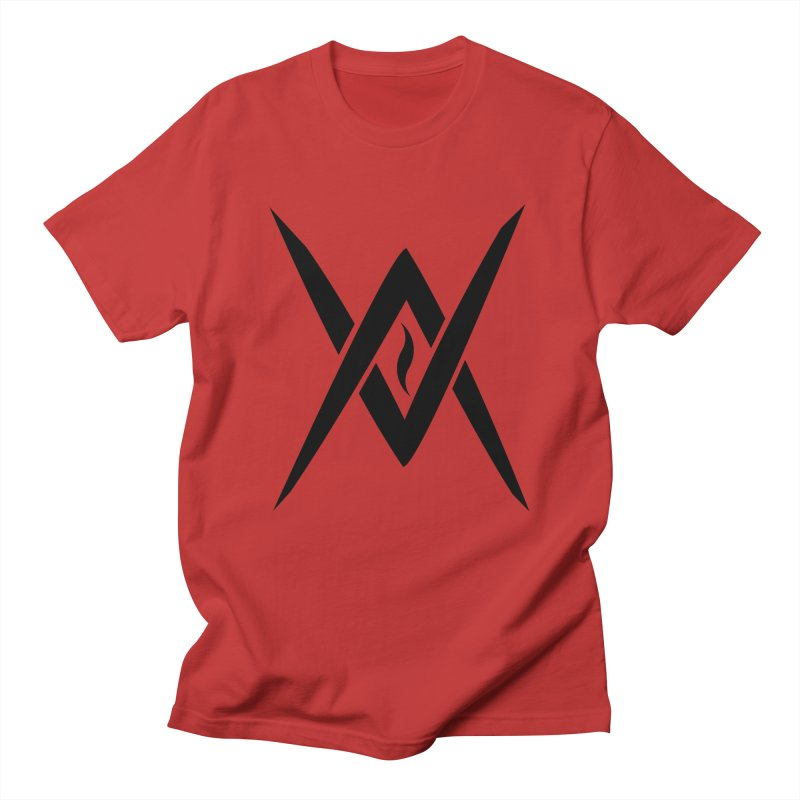 "Venus Aeon ""Tantric Black Flame"" (Black) Men's Regular T-Shirt by Venus Aeon (clothing)"