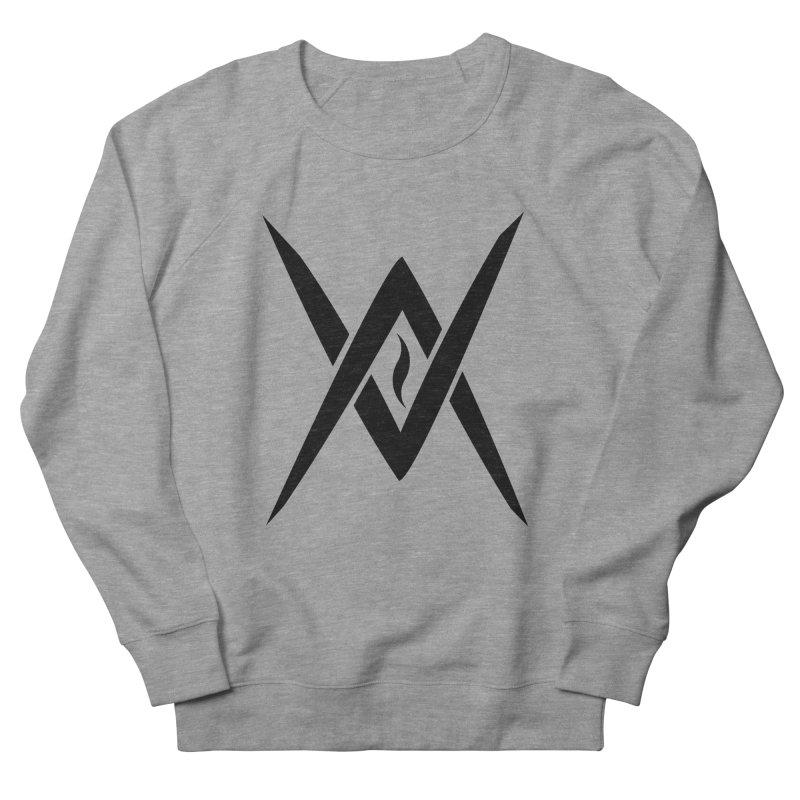 """Venus Aeon """"Tantric Black Flame"""" (Black) Women's French Terry Sweatshirt by Venus Aeon (clothing)"""