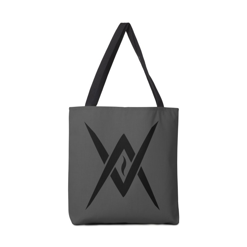 "Venus Aeon ""Tantric Black Flame"" (Black) Accessories Bag by Venus Aeon (clothing)"