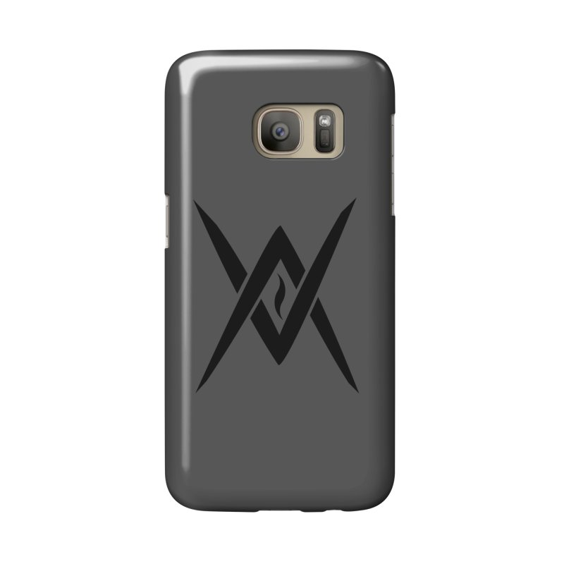 "Venus Aeon ""Tantric Black Flame"" (Black) Accessories Phone Case by Venus Aeon (clothing)"