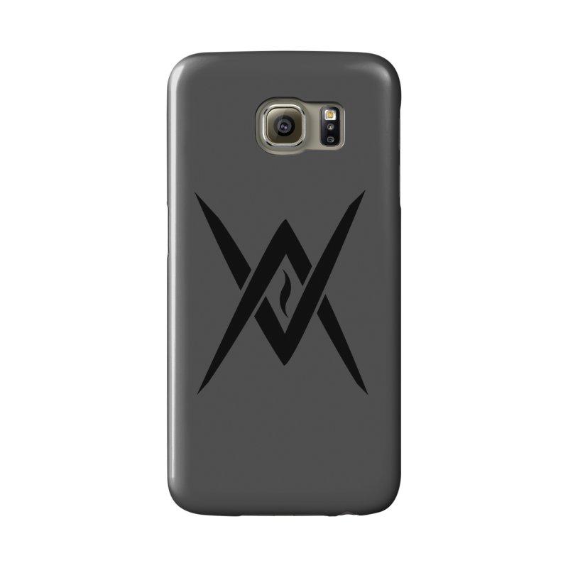 "Venus Aeon ""Tantric Black Flame"" (Black) Accessories Phone Case by Venus Aeon (clothing)"