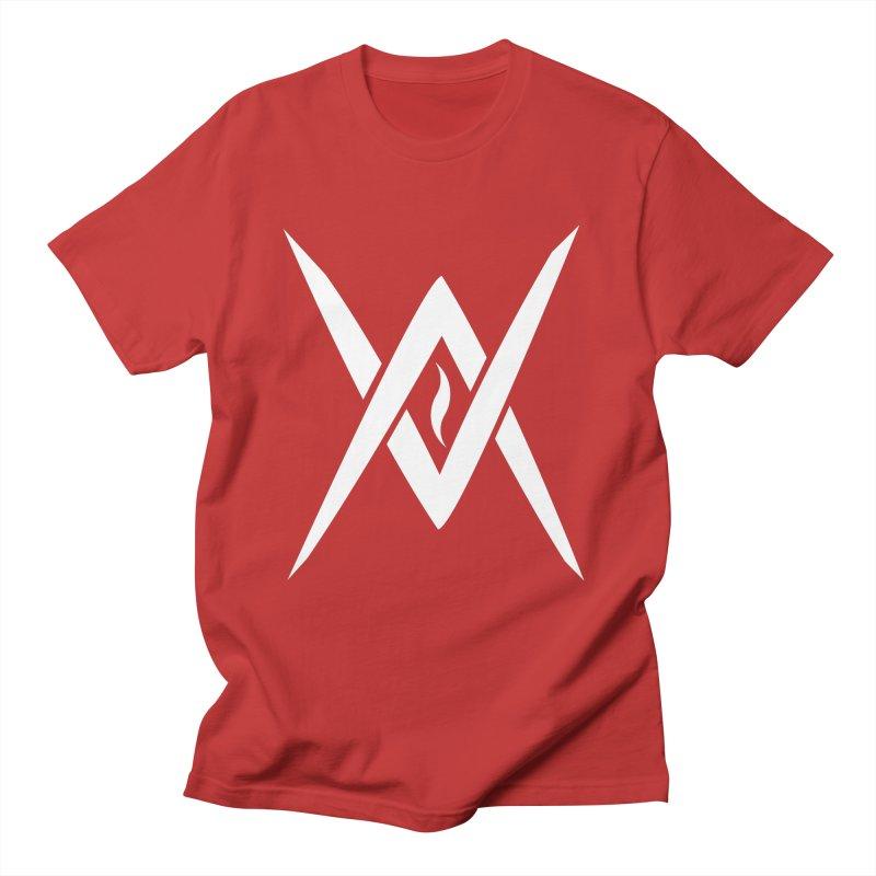 "Venus Aeon - ""Tantric Black Flame"" (White) Men's T-Shirt by Venus Aeon (clothing)"