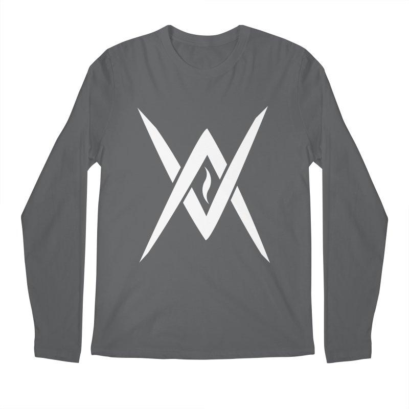 "Venus Aeon - ""Tantric Black Flame"" (White) Men's Longsleeve T-Shirt by Venus Aeon (clothing)"