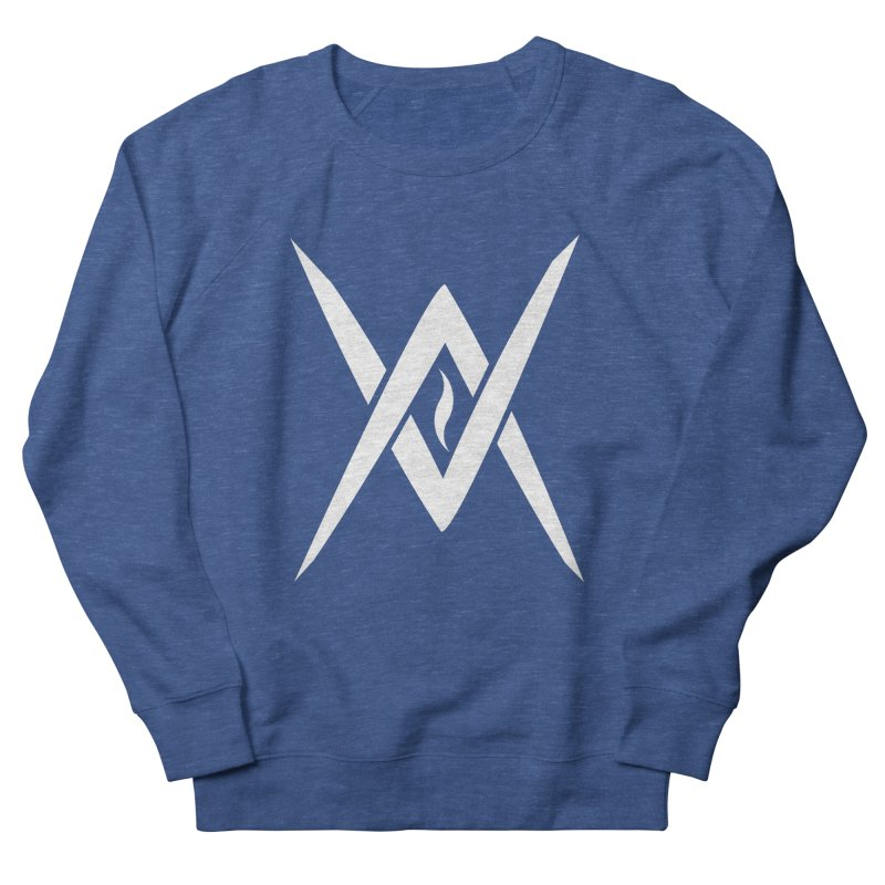 "Venus Aeon - ""Tantric Black Flame"" (White) Men's Sweatshirt by Venus Aeon (clothing)"
