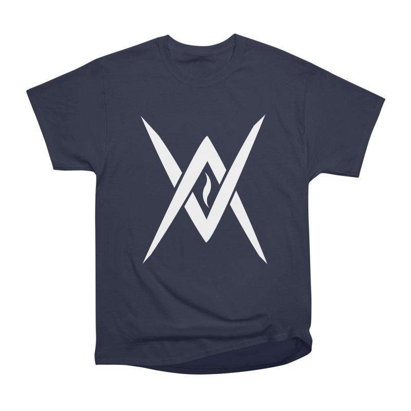 "Venus Aeon - ""Tantric Black Flame"" (White) Men's Heavyweight T-Shirt by Venus Aeon (clothing)"