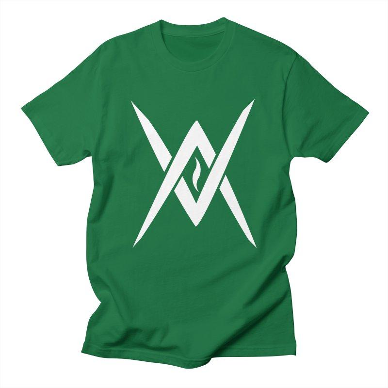 "Venus Aeon - ""Tantric Black Flame"" (White) Women's Regular Unisex T-Shirt by Venus Aeon (clothing)"