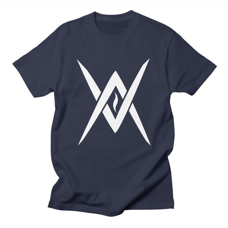 "Venus Aeon - ""Tantric Black Flame"" (White) Men's Regular T-Shirt by Venus Aeon (clothing)"