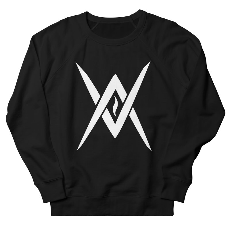 "Venus Aeon - ""Tantric Black Flame"" (White) Women's Sweatshirt by Venus Aeon (clothing)"