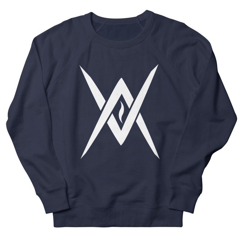 "Venus Aeon - ""Tantric Black Flame"" (White) Men's French Terry Sweatshirt by Venus Aeon (clothing)"