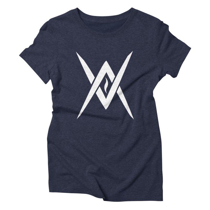 "Venus Aeon - ""Tantric Black Flame"" (White) Women's T-Shirt by Venus Aeon (clothing)"