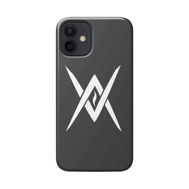 "Venus Aeon - ""Tantric Black Flame"" (White) Accessories Phone Case by Venus Aeon (clothing)"