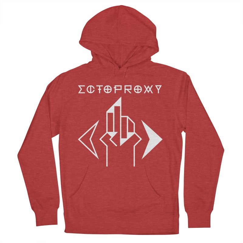 Ectoproxy (white) Men's Pullover Hoody by Venus Aeon (clothing)