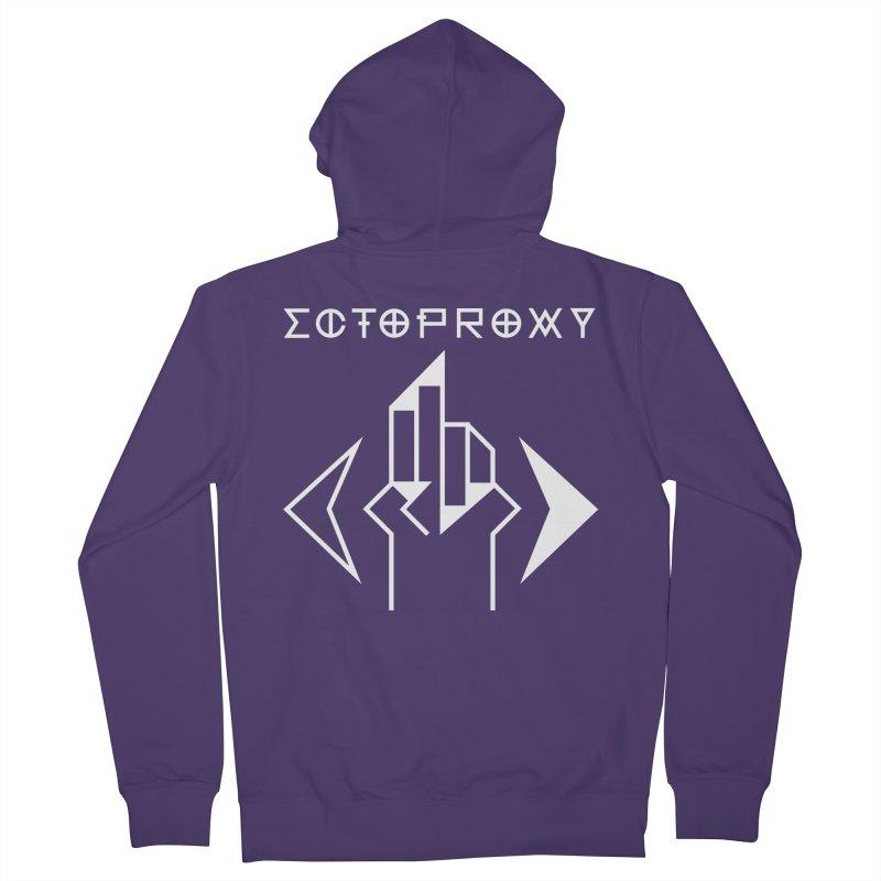 Ectoproxy (white) Women's Zip-Up Hoody by Venus Aeon (clothing)