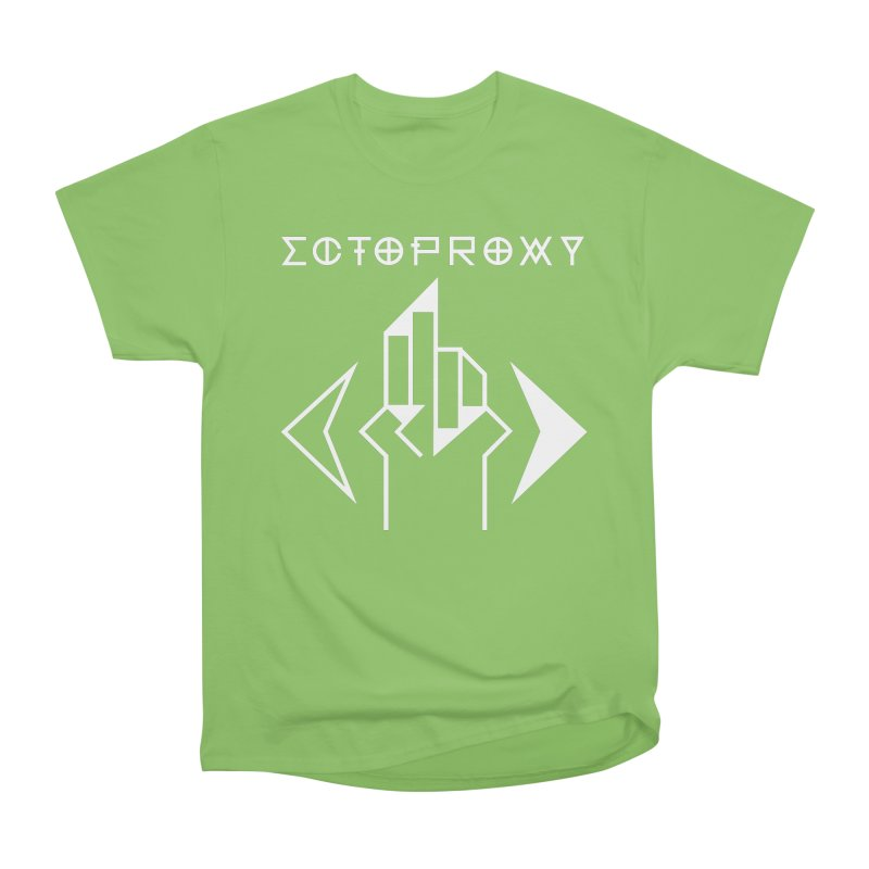 Ectoproxy (white) Men's Heavyweight T-Shirt by Venus Aeon (clothing)