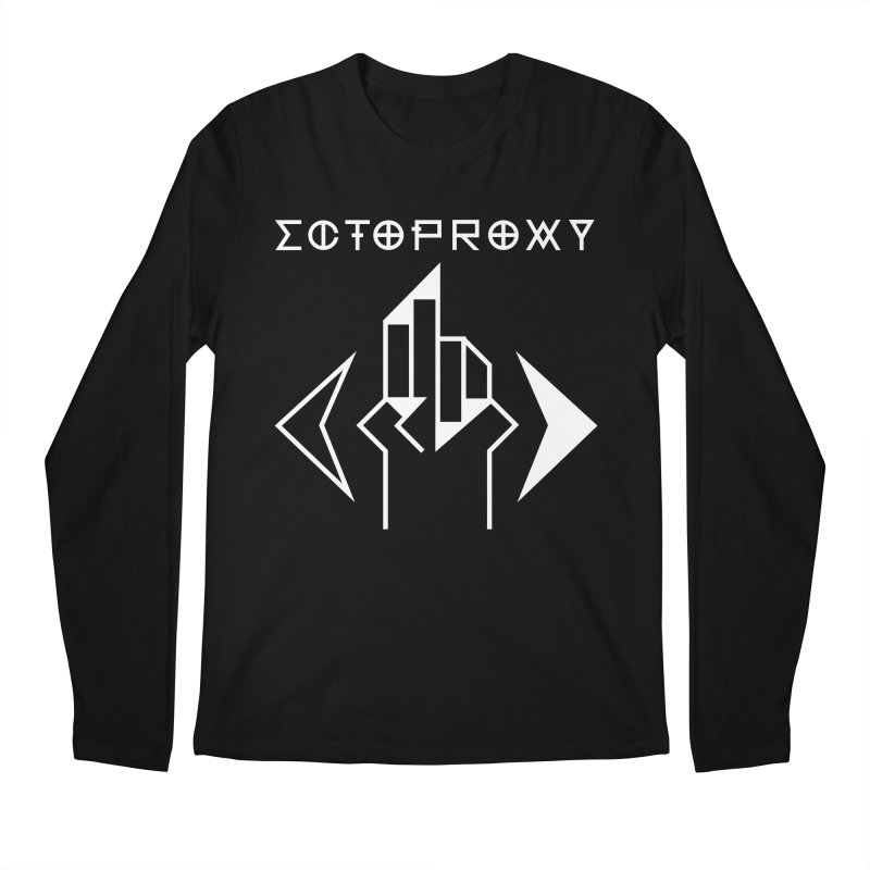Ectoproxy (white) Men's Regular Longsleeve T-Shirt by Venus Aeon (clothing)