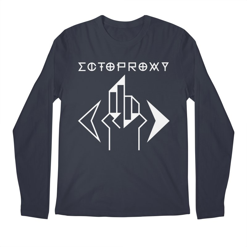 Ectoproxy (white) Men's Longsleeve T-Shirt by Venus Aeon (clothing)