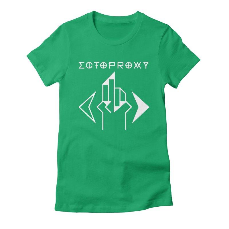 Ectoproxy (white) Women's T-Shirt by Venus Aeon (clothing)