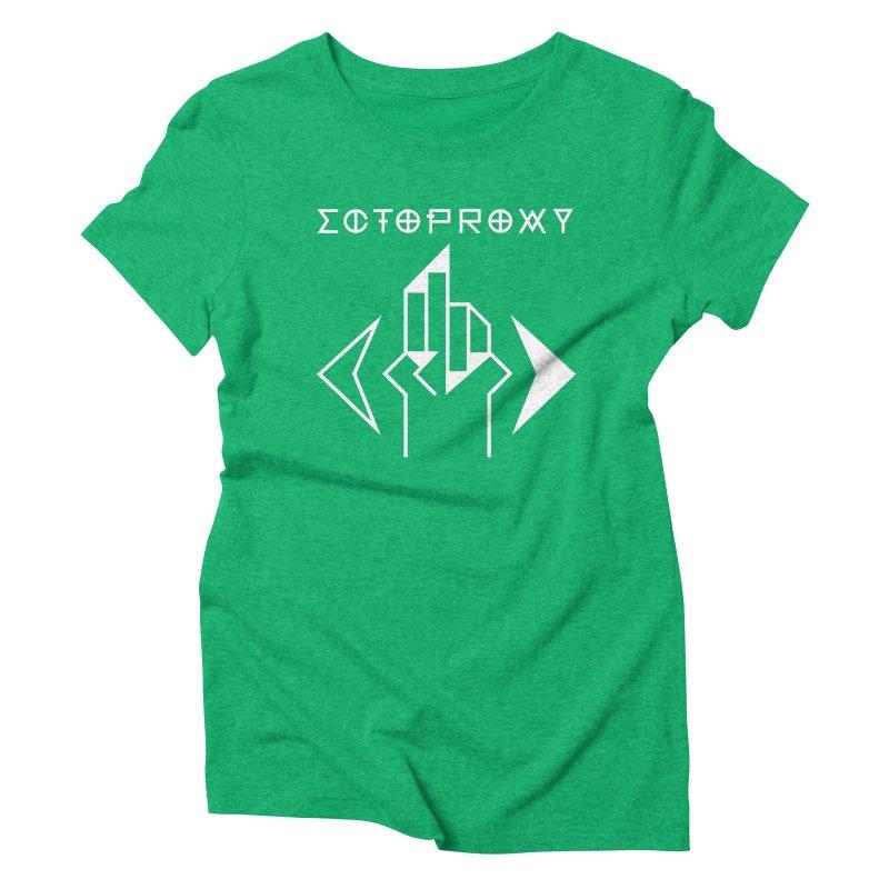 Ectoproxy (white) Women's Triblend T-Shirt by Venus Aeon (clothing)