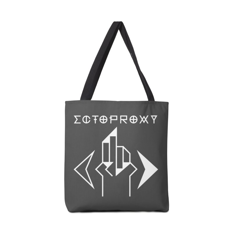 Ectoproxy (white) Accessories Tote Bag Bag by Venus Aeon (clothing)