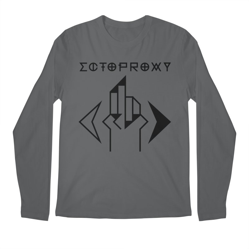 Ectoproxy (black) Men's Longsleeve T-Shirt by Venus Aeon (clothing)
