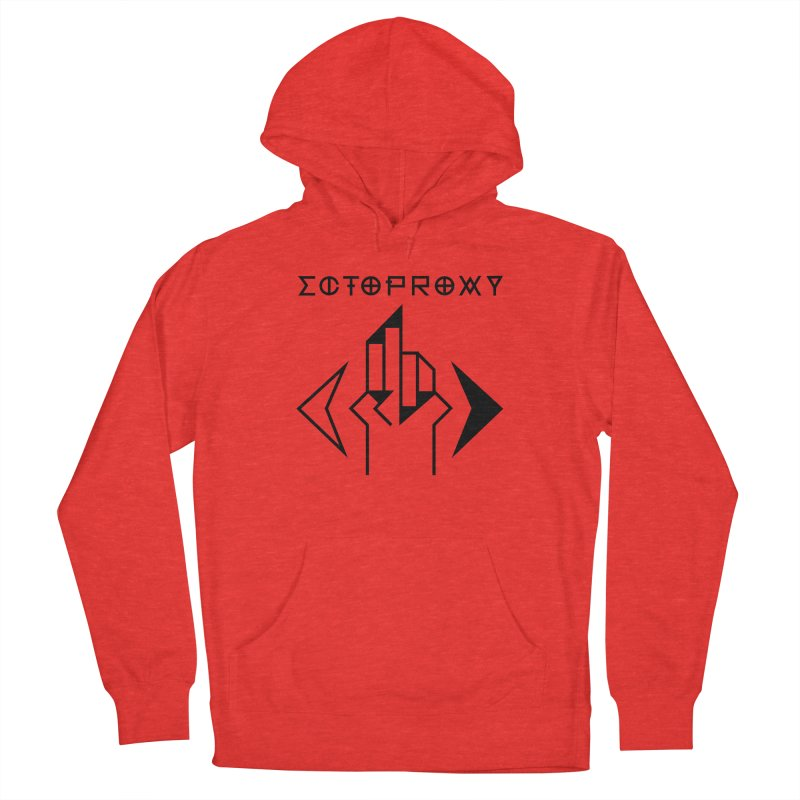Ectoproxy (black) Men's Pullover Hoody by Venus Aeon (clothing)
