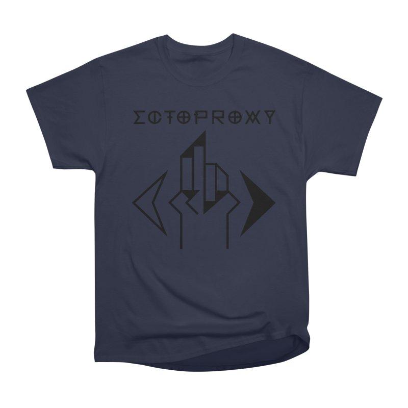 Ectoproxy (black) Men's Heavyweight T-Shirt by Venus Aeon (clothing)