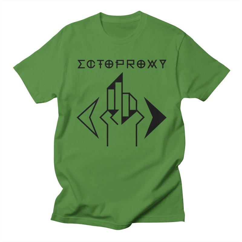 Ectoproxy (black) Men's T-shirt by Venus Aeon (clothing)