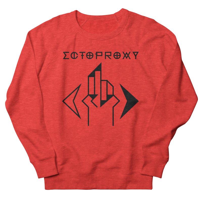 Ectoproxy (black) Men's Sweatshirt by Venus Aeon (clothing)