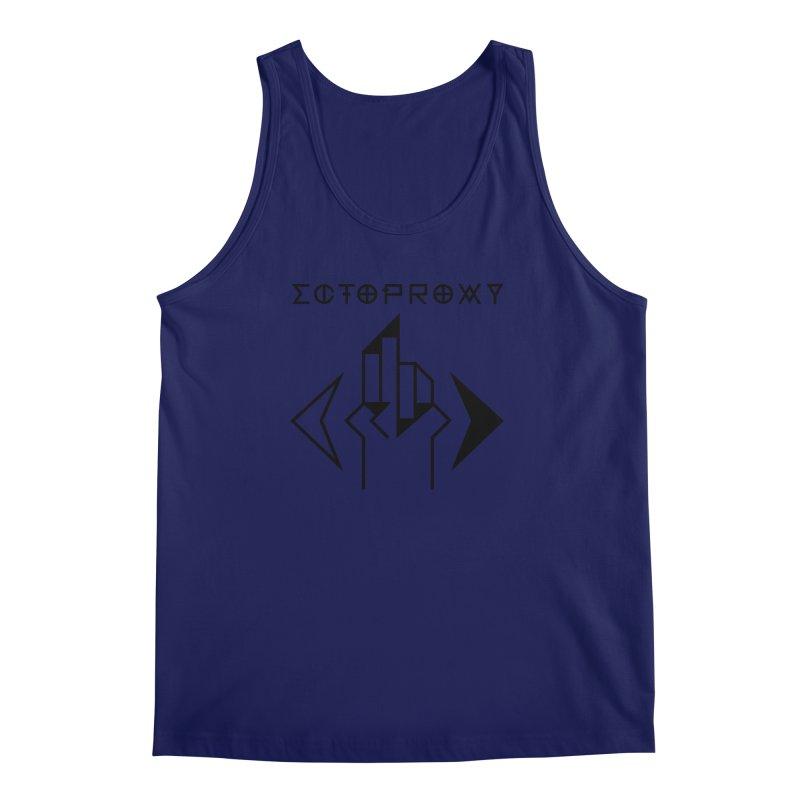 Ectoproxy (black) Men's Regular Tank by Venus Aeon (clothing)