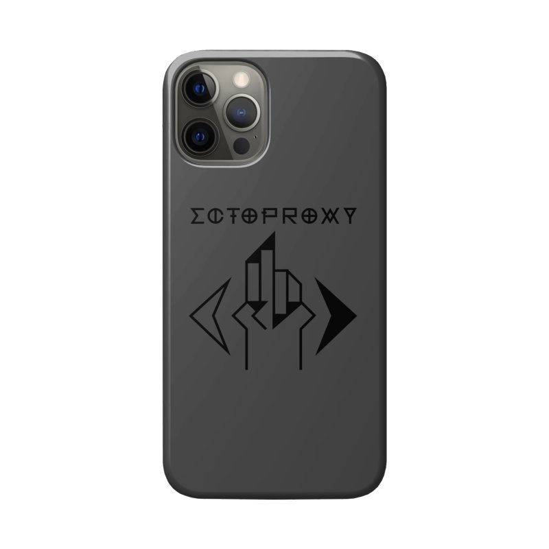 Ectoproxy (black) Accessories Phone Case by Venus Aeon (clothing)
