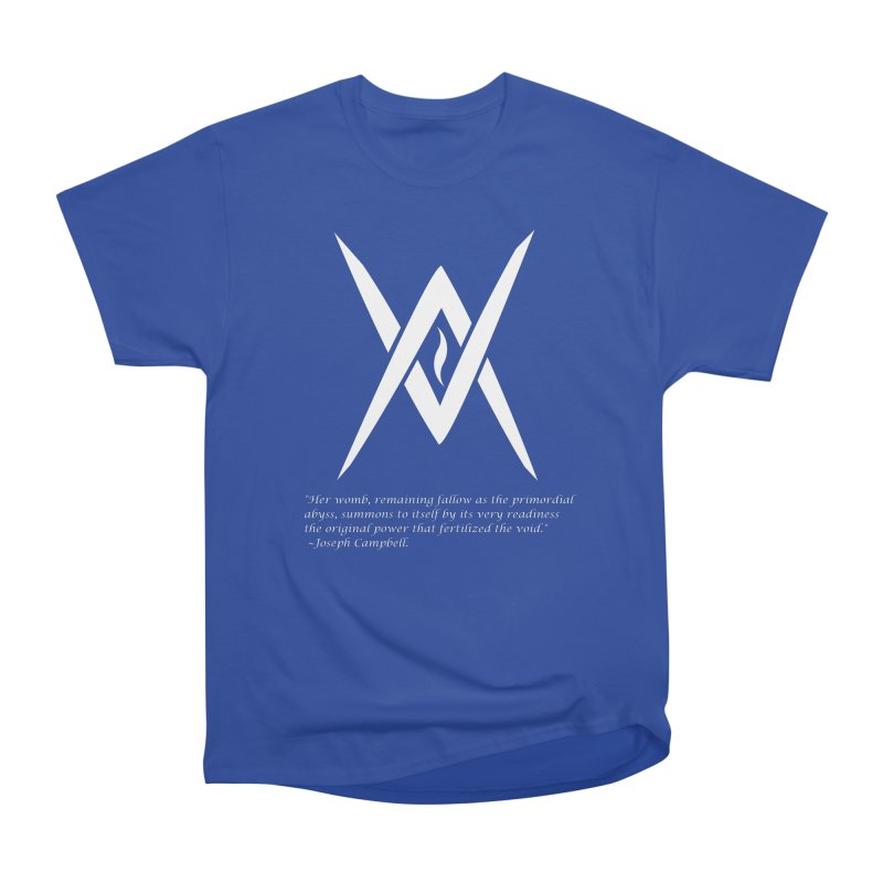 Tantric Black Flame (white) w/ quote Women's T-Shirt by Venus Aeon (clothing)