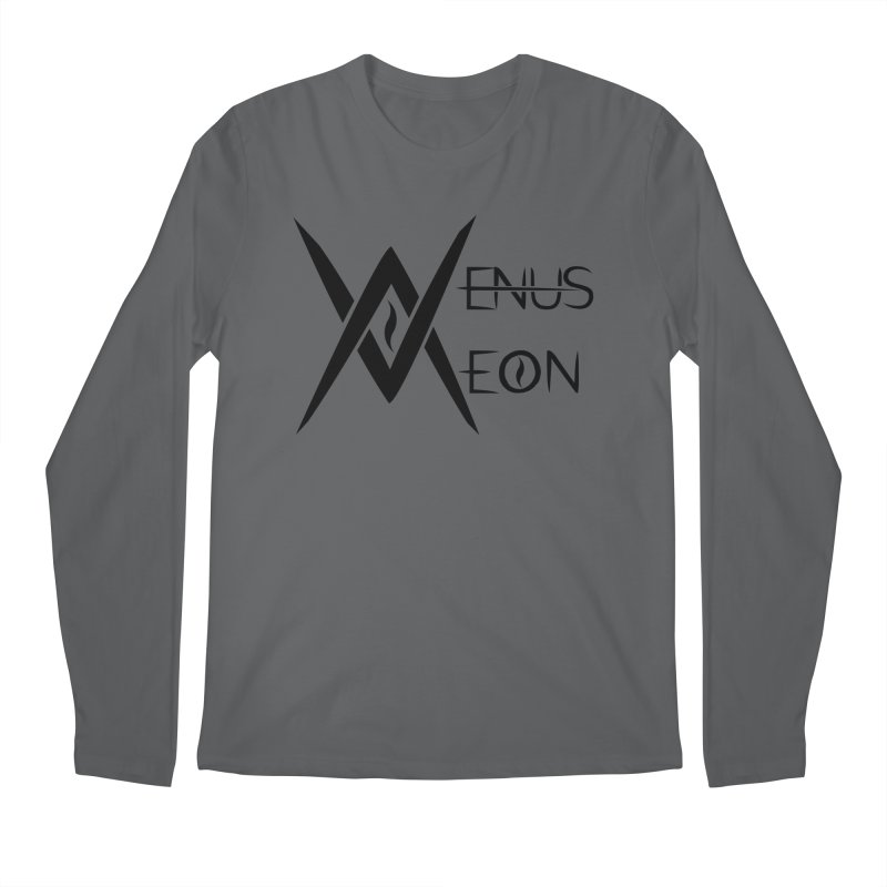Venus Aeon logo (black) Men's Longsleeve T-Shirt by Venus Aeon (clothing)